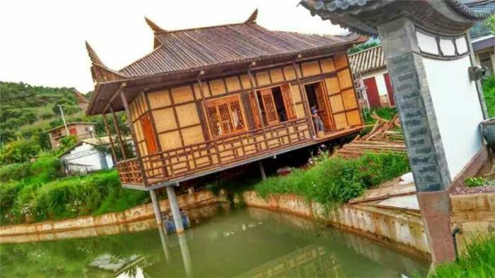 水上竹茶室